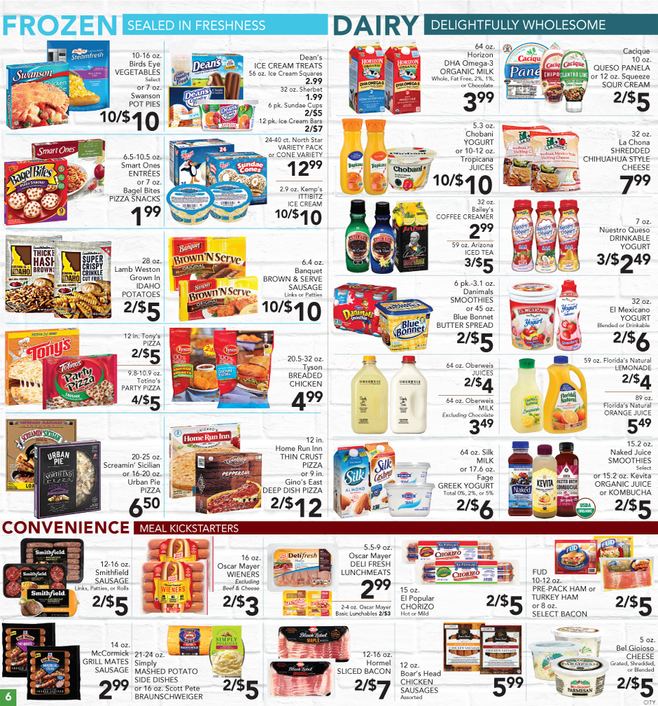 07/11/2018 - 07/17/2018   Pete\'s Fresh Market