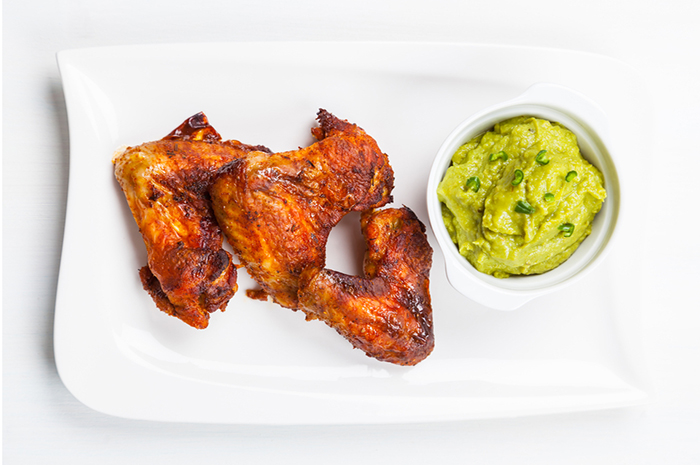 Buffalo Wings Guacamole